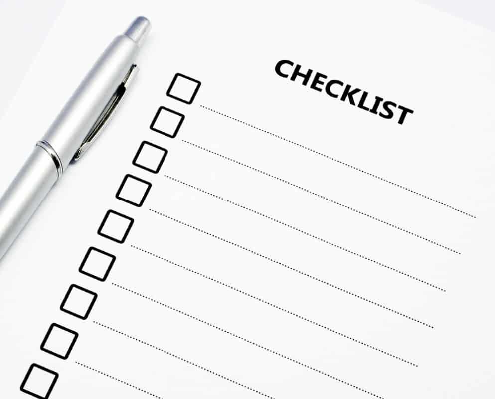 Luôn check list các công việc ra một cách cụ thể, chi tiết nhất khi có ý định chuyển nhà