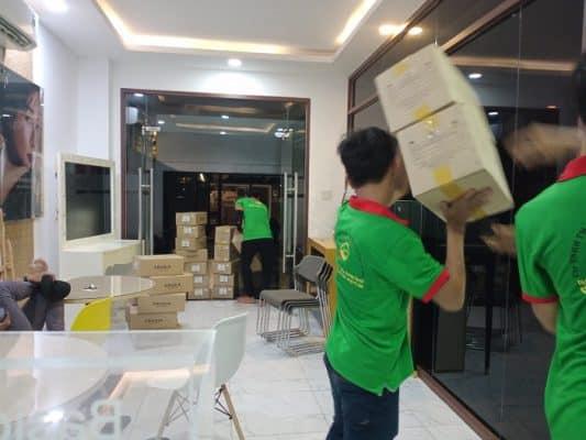 Dịch vụ chuyển nhà tại các quận