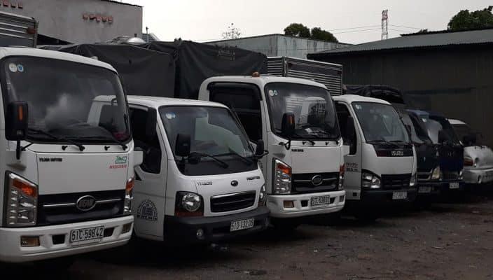 Xe taxi tải của Dịch Vụ Chuyển Nhà Trọn Gói