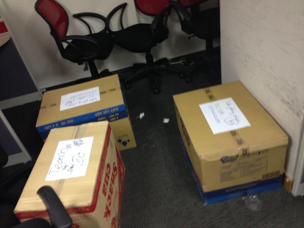Cách đóng gói đồ đạc chuyển nhà khoa học