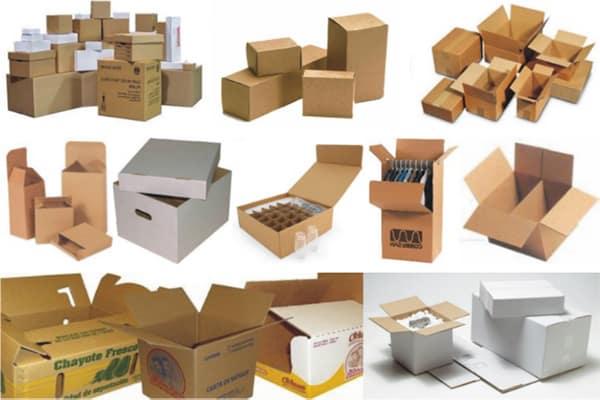 Sử dụng thùng carton giúp bạn cố định đồ đạc một cách gọn gàng và hiệu quả tránh hư hỏng khi vận chuyển.