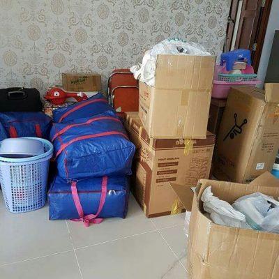 Phân loại và đóng gói đồ đạc khi chuyển trọ