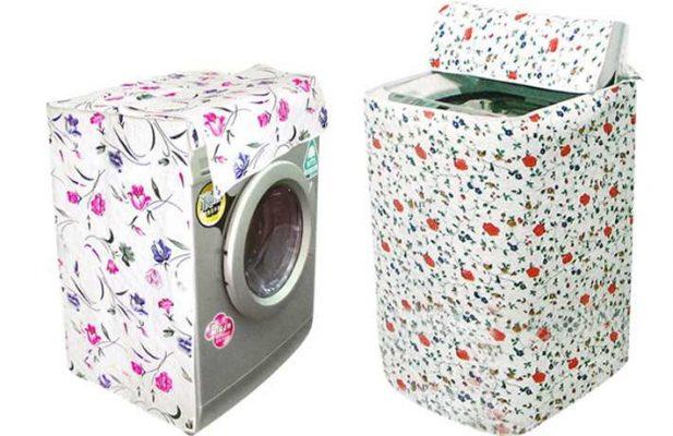 Bọc lót máy giặt cẩn thận