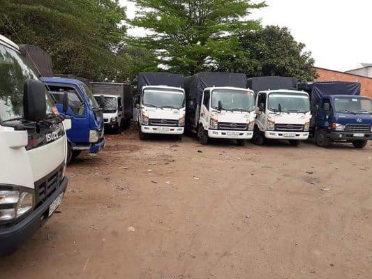 Hệ thống xe taxi tải chuyển nhà của Viet Moving