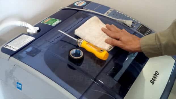 Quy trình tháo máy giặt