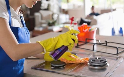 Cần phải vệ sinh sạch sẽ bếp ga