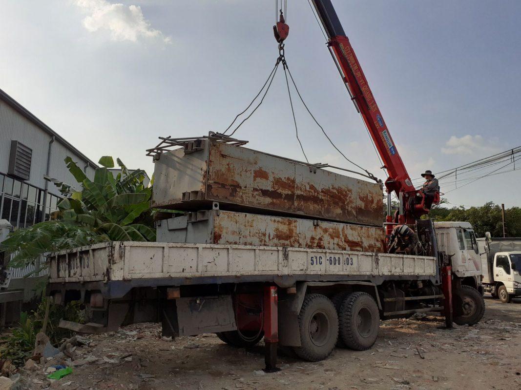 Dịch vụ cho thuê xe cẩu quận Bình Thạnh tphcm