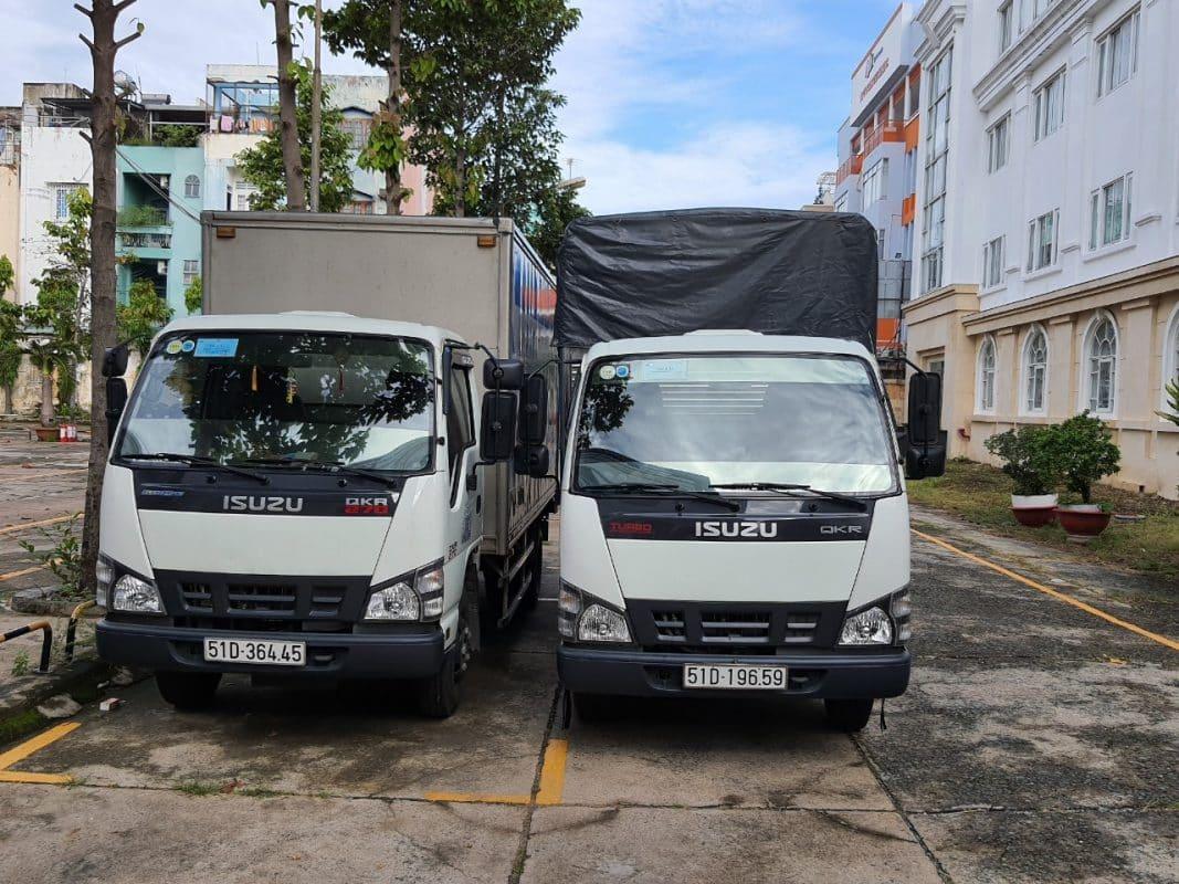 Xe tải chở hàng giá rẻ quận 4 tphcm