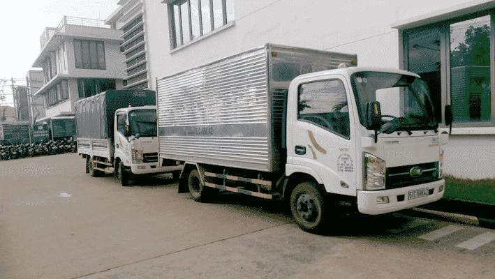 Quy trình dịch vụ cho thuê xe tải tại Viet Moving