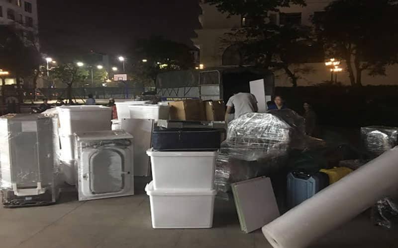 Những khó khăn khi vận chuyển vào buổi tối