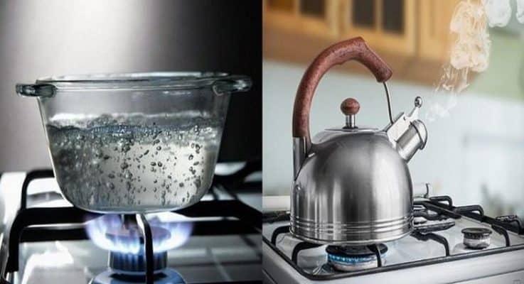 Đun nước sôi tạo may mắn tài lộc cho gia chủ
