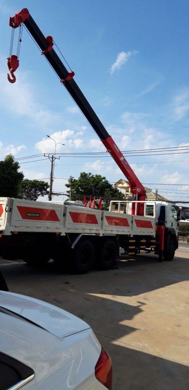 Dịch vụ cho thuê xe cẩu quận Phú Nhuận tphcm