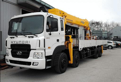 Thuê xe cẩu huyện Hóc Môn