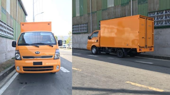 Dịch vụ cho thuê xe tải chuyển văn phòng tphcm