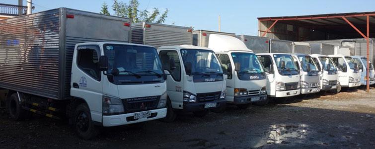 Dịch vụ cho thuê xe tải chở hàng giá rẻ Huyện Cần Giờ tphcm