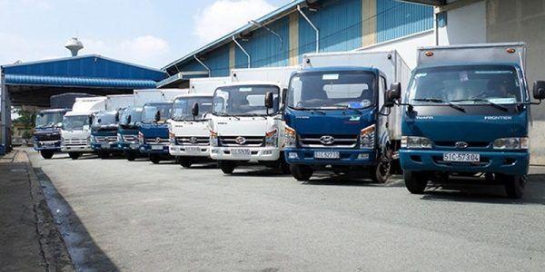 Thuê xe tải chở hàng tại Củ Chi