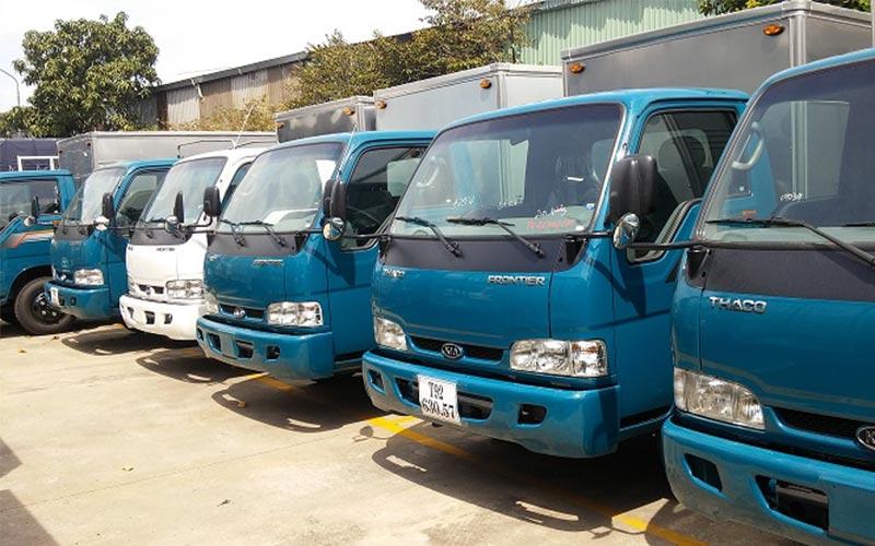 Dịch vụ cho thuê xe tải chở hàng giá rẻ Huyện Bình Chánh tphcm