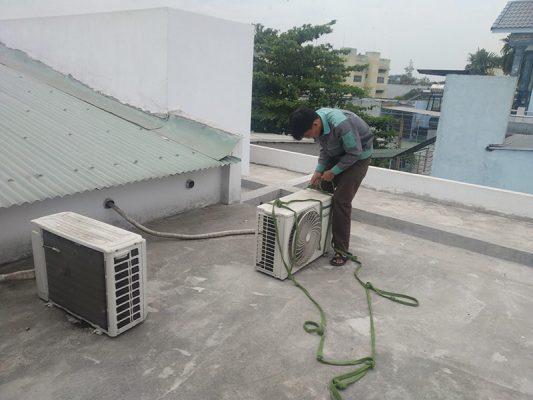 Dịch vụ tháo lắp di dời máy lạnh giá rẻ quận 1 tphcm