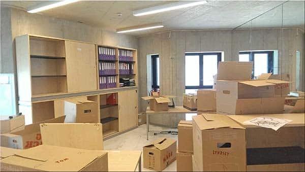 Bạn phải nắm được số lượng đồ đạc khi chuyển văn phòng