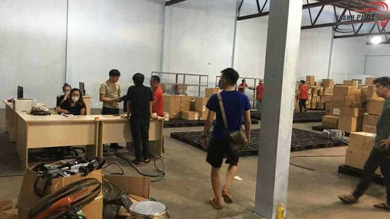 Dịch vụ chuyển kho xưởng trọn gói quận 2 tphcm