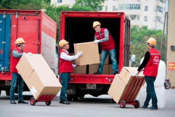 Thùng carton giúp thuận lợi cho việc chuyển nhà