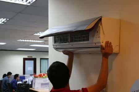 Quy trình tháo lắp máy lạnh chuyên nghiệp