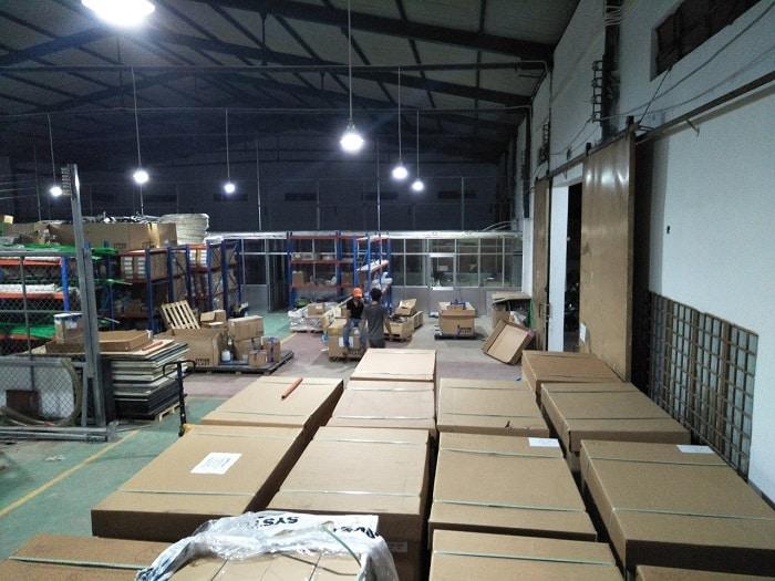 Dịch vụ chuyển kho xưởng trọn gói tphcm