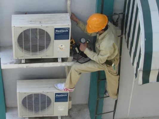 Dịch vụ tháo lắp di dời máy lạnh giá rẻ quận 9 tphcm