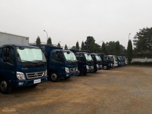 Dịch vụ cho thuê xe tải 5 tân chở hàng đang rất phát triển