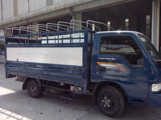 Kích thước thùng xe tải 1.4 tấn phổ biến là: 3,4mx 1,67m x 1,85m (dài x rộng x cao).