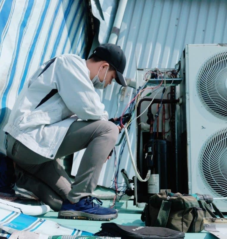 Dịch vụ tháo lắp di dời máy lạnh giá rẻ huyện Nhà Bè tphcm