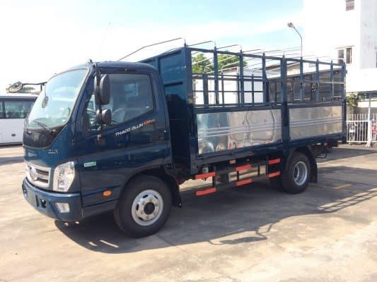 Kích thước thùng xe tải 5 tấn là: 6m x 2,2 m x 2,4 m (dài x rộng x cao).