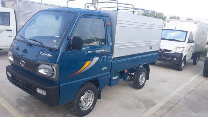 Kích thước thùng xe tải 500kg là: 2m x 1.3m x 1.2m (dài x rộng x cao)