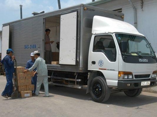 Chành xe gửi hàng hóa