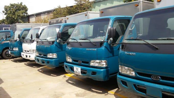 Xe tải tự lái đa dạng