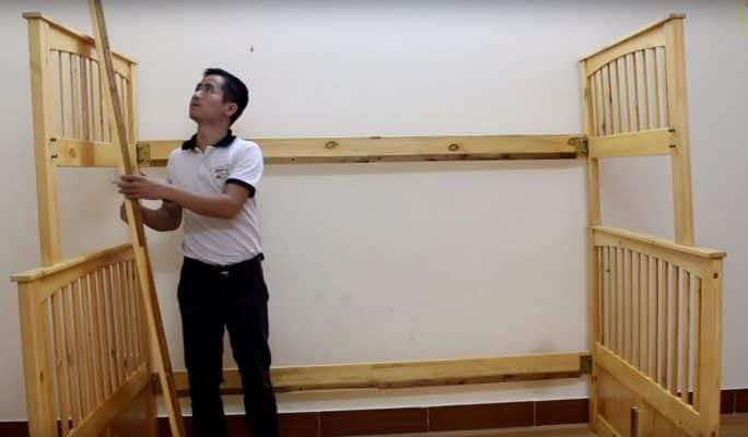 Cách tháo lắp phòng ngủ