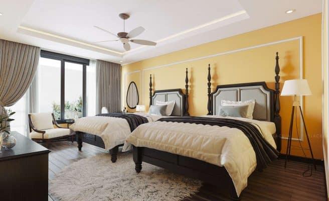 Giường ngủ có ý nghĩa quan trọng trong phong thủy phòng ngủ