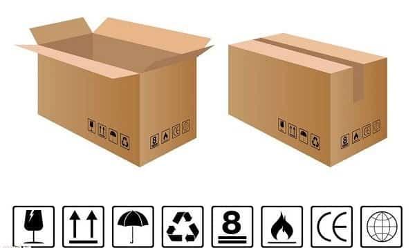 Các ký hiệu trên thùng carton phổ biến