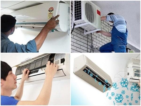 Quy trình dịch vụ sửa chửa máy lạnh tối ưu và nhanh chóng
