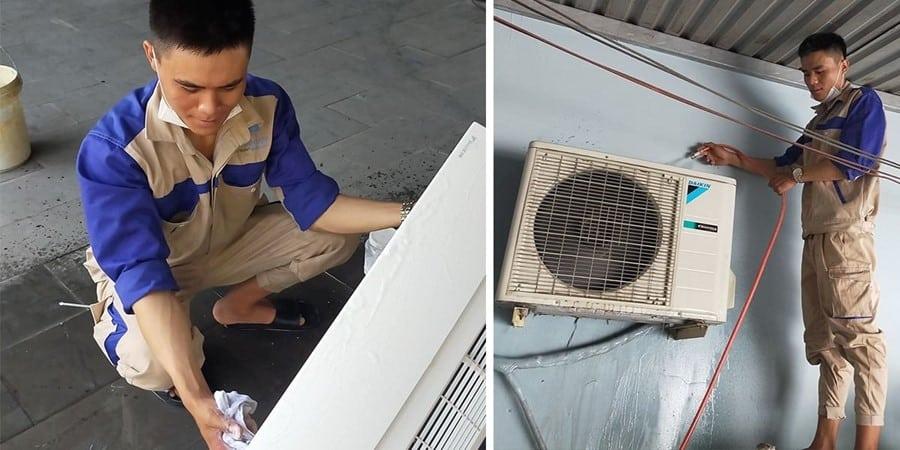 Chúng tôi là đơn vị chuyển dịch vụ sửa chửa di dời máy lạnh