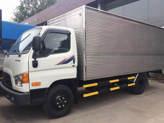 Kích thước thùng xe tải 8 tấn là 8,0m x 2,35m x 2,5m (dài x rộng x cao)