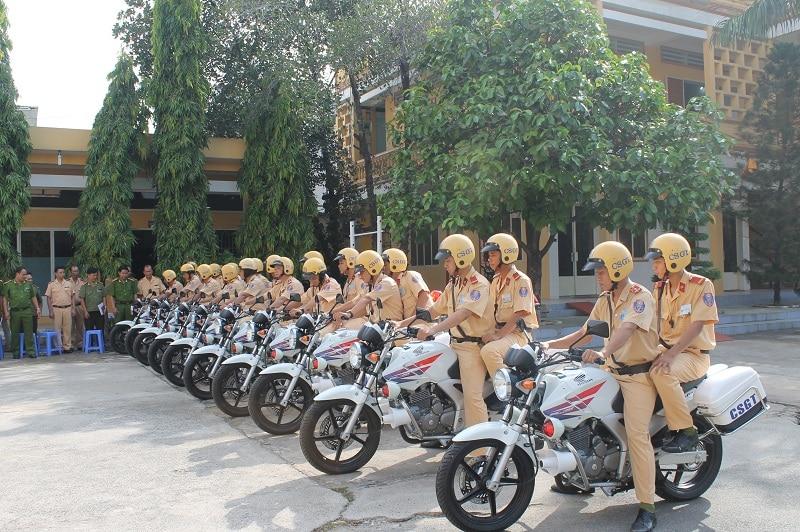 Xe máy chuyên dụng trong quận ngũ