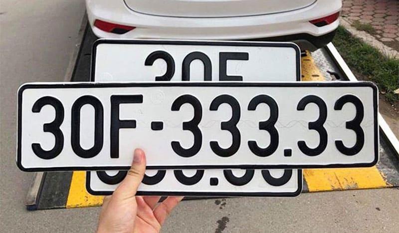 Biển số xe 5 số đẹp