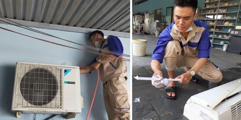 Quy trình tháo lắp di dời máy lạnh chuyên nghiệp