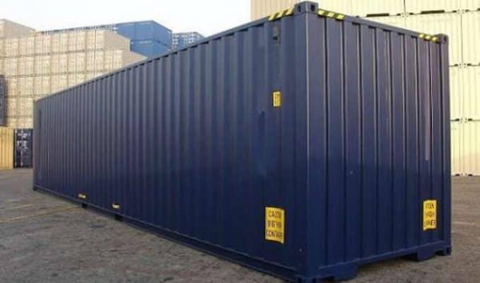 1 container 40 feet chở được bao nhiêu tấn hàng hoá
