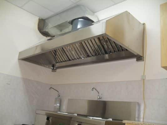 Giữ bếp thông gió tốt