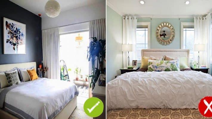 Những cách đặt giường ngủ theo phong thủy