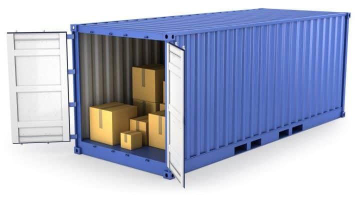 Container 20 feet mở nóc (OT)