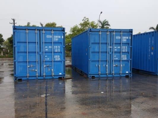 Container 20 feet chở được bao nhiêu tấn hàng