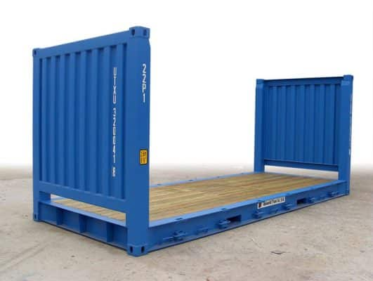 Container 20 Foot Flat Rack